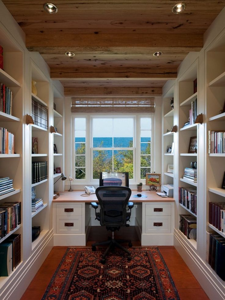 Small Home Office #homeoffice