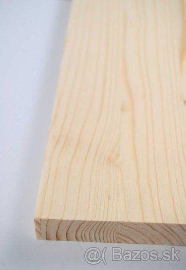 Drevené dosky smreková škárovka - 1
