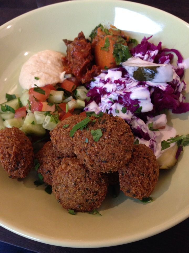Falafelbaren - Excellent, but a bit pricy falafel. However well worth it.