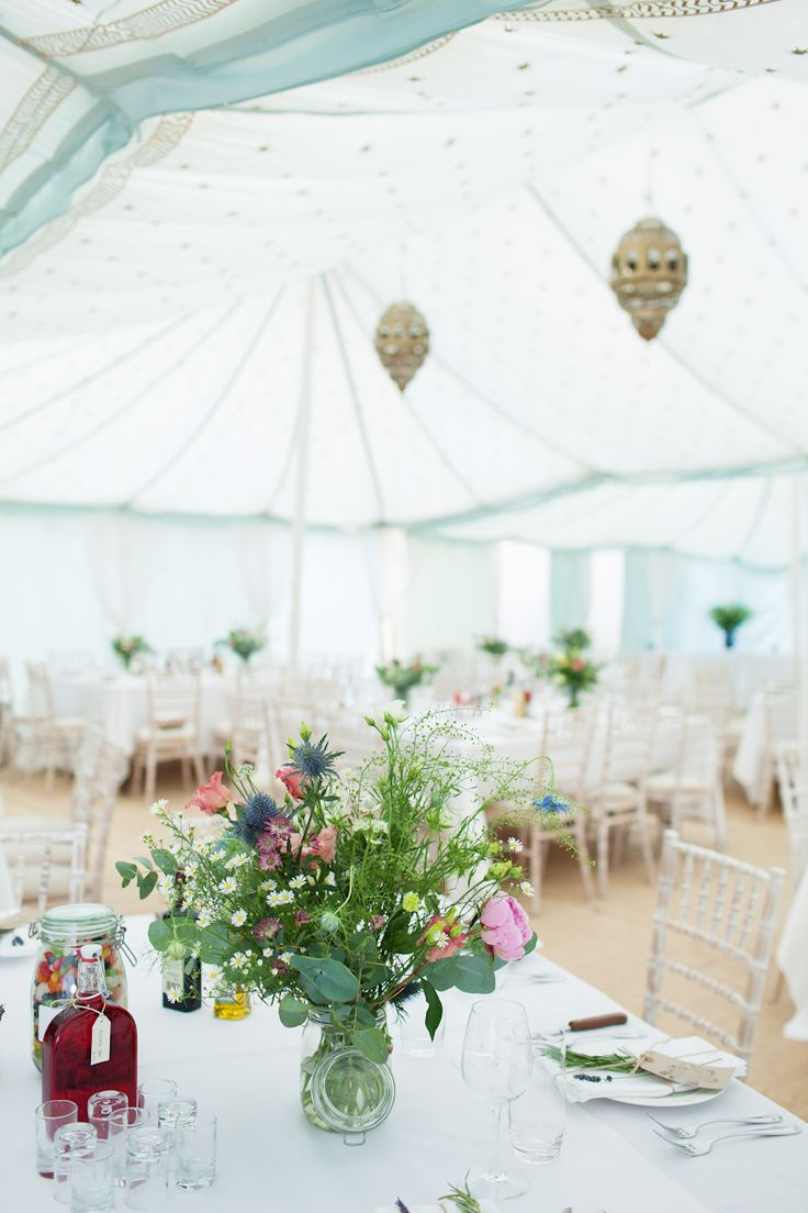 summer wedding reception | itakeyou.co.uk