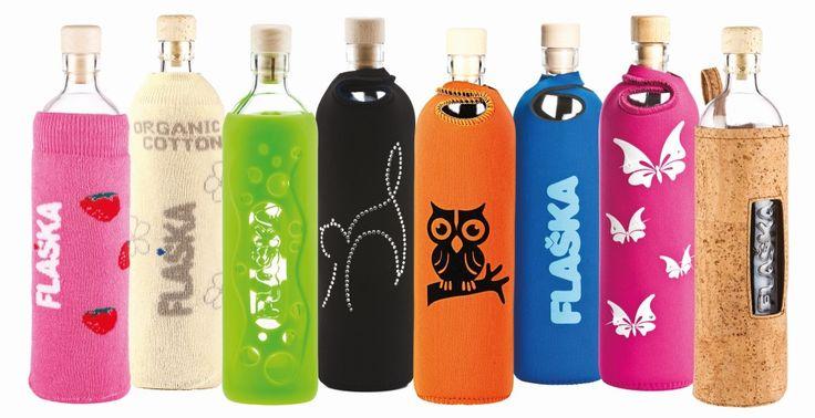 Die Trinkflasche aus Glas Flaska   Ihre persönliche…   Flaska