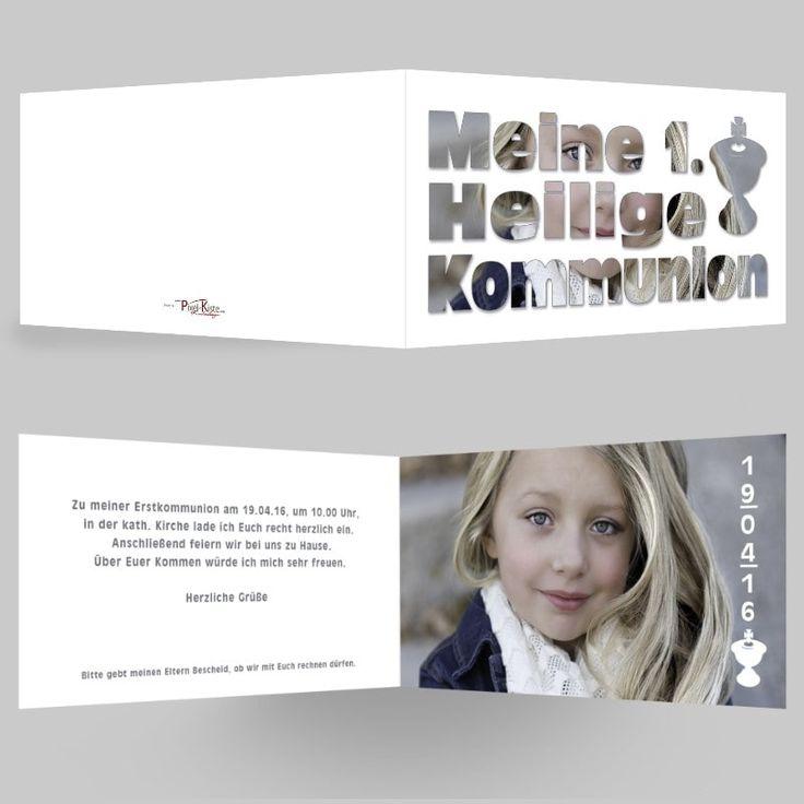19 besten einladungen invitations kommunion konfirmation bilder, Einladungsentwurf