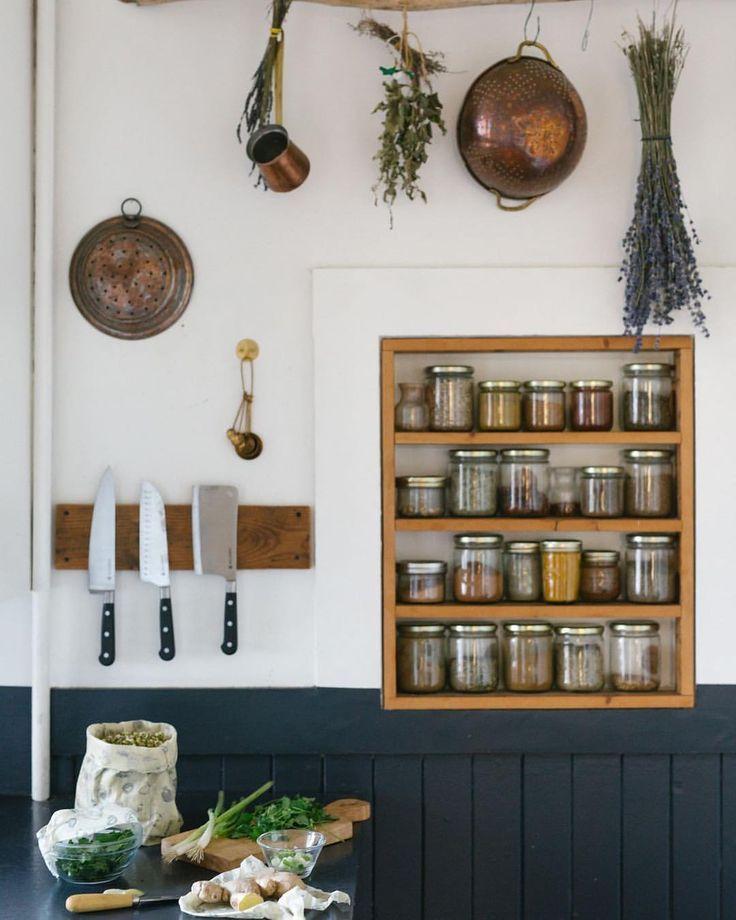 Bulk Foods In Glass Jars Zero Waste Pantry Apartment Kitchen