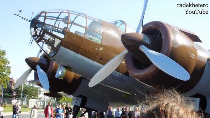 Samolot (bombowiec) PZL 37 ŁOŚ - Rekonstrukcja - Mielec - 30 wrzesień 20...