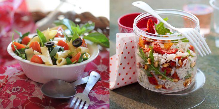 Pâtes ou riz : 30 salades idéales pour l'été