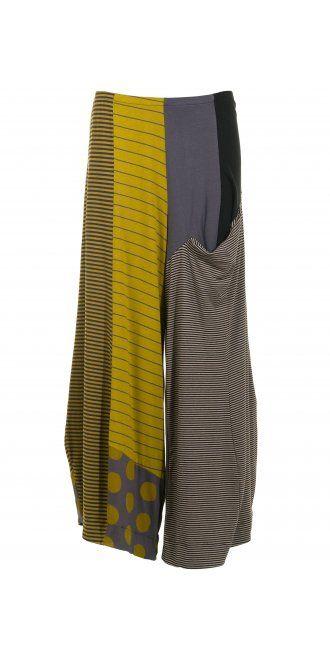 Alembika Muticolour Mix Wide Leg Trouser, £159.00, stretch viscose | idaretobe