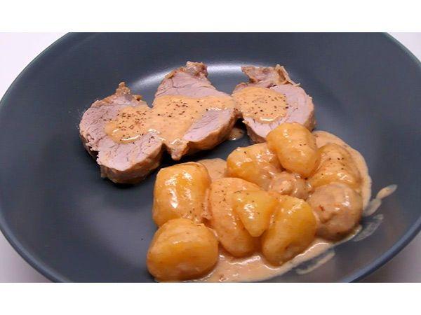 Filet mignon au maroilles, champignons et pommes de terre en vidéo (recette Cookeo) | Click n' Cook