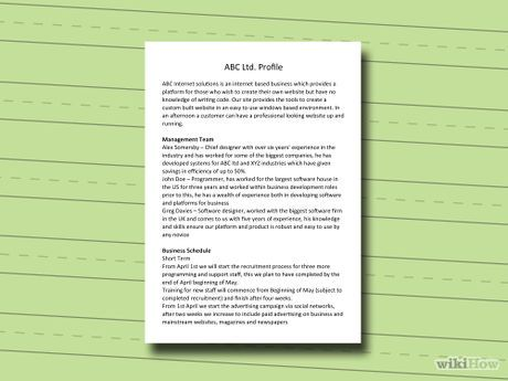 How To Write A Profile Resume 8 Best Business Images On Pinterest  Business Investing And .
