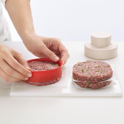#pressa #hamburger #lekue http://delgattoforniture.it/prodotto/pressa-hamburger-my-burger-lekue/