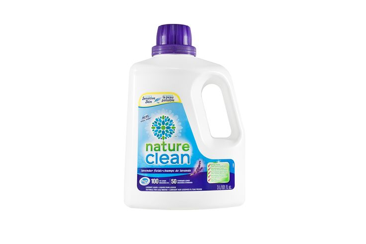 99.9% Natural Hypoallergenic Lavender Laundry Liquid 3L   Nature Clean
