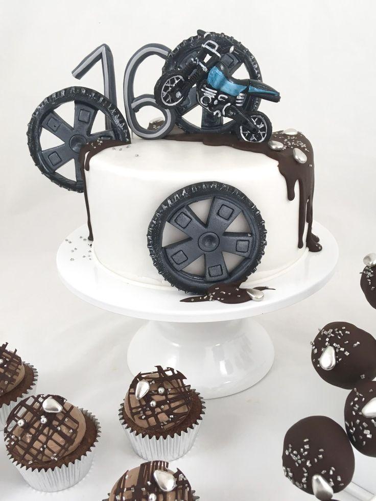 Torte 16 Cake Bike Motorrad Madchen Torte Motorrad Torte Kuchen Ideen Madchen Torte