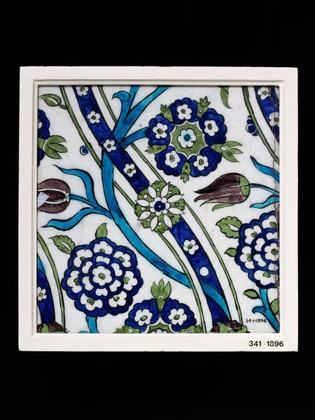 Tile, Damascus, Syria 16th century | V&A Search the Collections