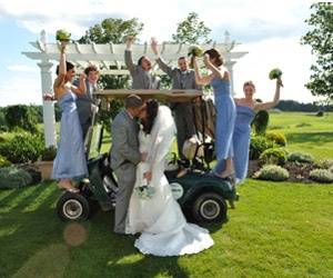 A round of Golf and a Wedding - The Links at Union Vale- LaGrangeville, NY