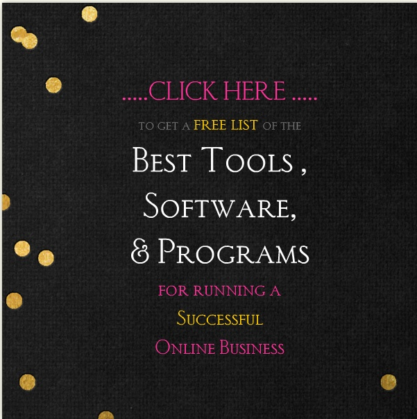 Great free resource list of the best tools and programs for running an online business.