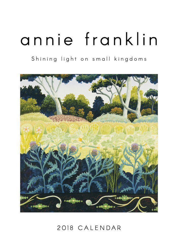 Annie Franklin Calendar 2018