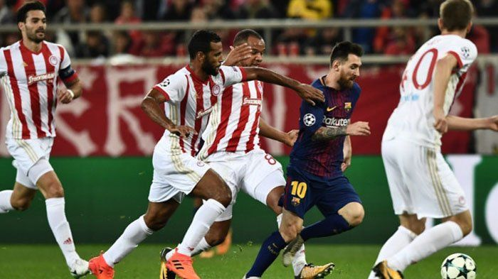Olympiakos Vs Barcelona - Hasil Imbang Tanpa Gol Buat Blaugrana Gagal Jaga Rekor Sempurna