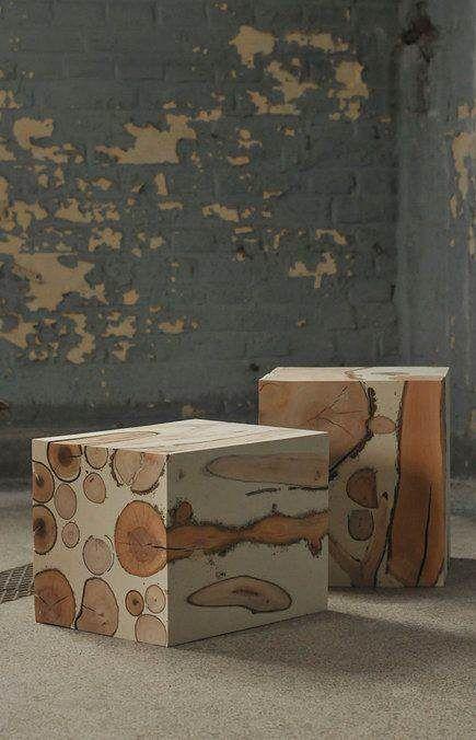 Tocos de madeira encontrados apodrecendo podem gerar verdadeiras esculturas, podem ser usados também como banquetas ou mesinhas.