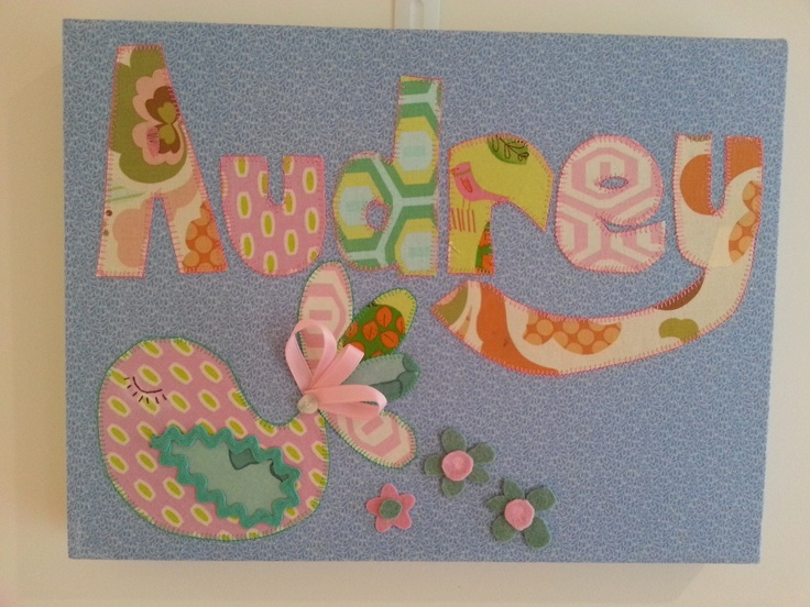 For a beautiful little girl's bedroom wall