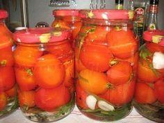 Маринованные помидоры сладко-острые   Про рецептики - лучшие кулинарные рецепты для Вас!