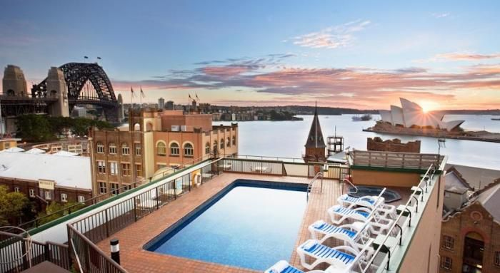 Holiday Inn Old Sydney - 4 star $$ - Position, Position...this hotel has it, especially for those coming to see the major sites of Sydney at a reasonable price - see more - http://www.best10hotels.com/#!hotels-near-sydney-opera-house/c31k #Sydney #Australia #hotels #travel