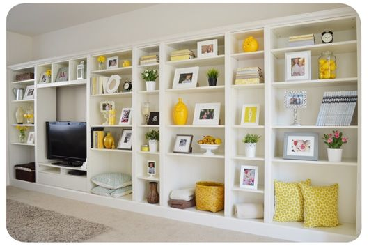 Ikea+hack:+Billy+bookcases+turn+into+expensive+looking+built-ins+in+no+time.