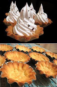 Тесто для корзиночек (Потрясающий рецепт!!!)))