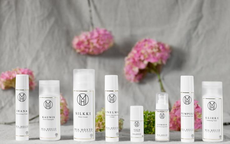 Mia Höytö Cosmetics. Organic skin care from Finland.