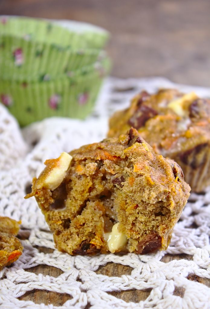 Muffiny Dyniowe z Czekoladą i Rodzynkami