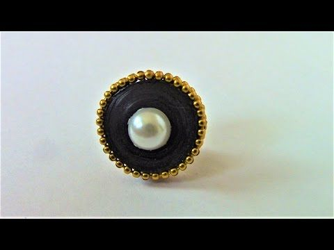 How to Make Quilling Stud Earring for Beginners/Design 17/Tutorial - YouTube