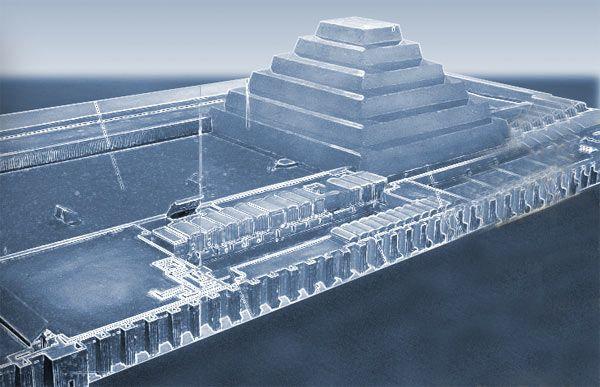 Imhotep tomb saqqara ancient origins egypt pinterest for Imhotep architecte