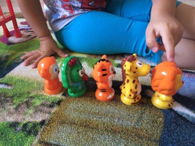 Счет и предлоги с животными - Поделки с детьми | Деткиподелки