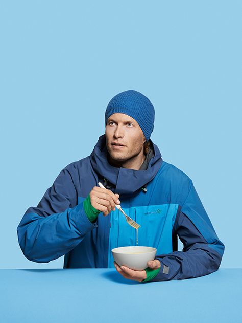Eat soup with a spoon! 2-layer Gore-Tex jacket for backcountry riding. Just as functional as eating soup with a spoon. Find it here at www.norrona.com