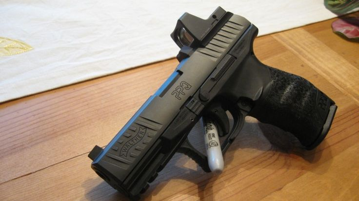 walther ppq w red dot sight firearms pro 2a pinterest