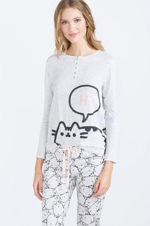 women'secret | Dulces sueños 30% | Pijama largo de Pusheen