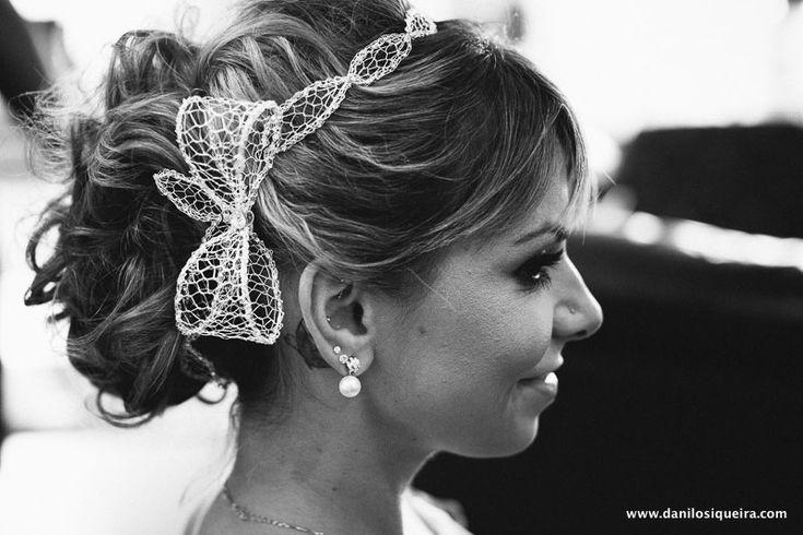Tiara da D.Cantidio para um mini wedding cheio de amor ♥