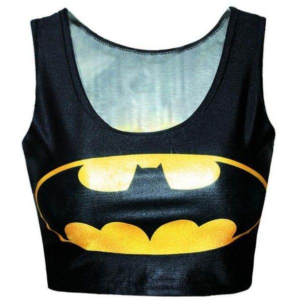 Gilets Et Gilets Batman Logo Impression Inversee Cropped Vest ($7.68) ❤ liked on Polyvore featuring outerwear, vests, blue waistcoat, petite vests, gilet vest, vest waistcoat and crop vest