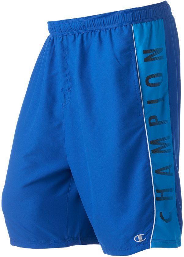 Champion Big & Tall Microfiber Logo Swim Trunks