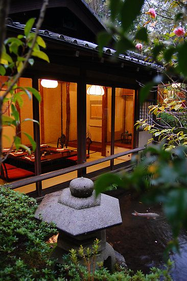 Ryokan (Traditional Japanese Inn)