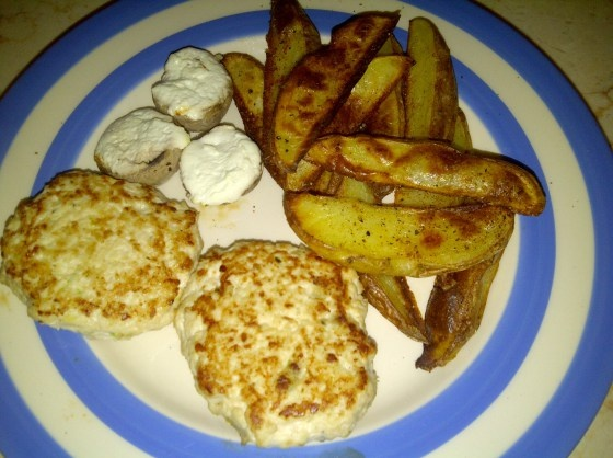 Low Syn Spiced Potato Wedges