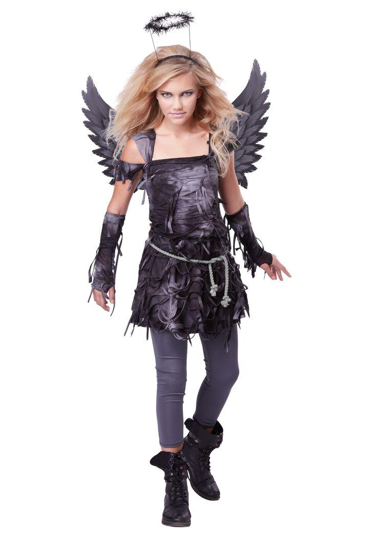 teen spooky angel costume tween halloween costumeskids costumes girlskid - Halloween Costumes For Boy And Girl