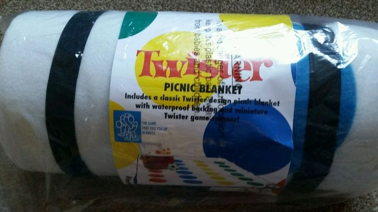 #Twister Picnic Blanket Travel Rug Fun For #Summer Outdoor Festivals Beach Camping #retro #games #fun