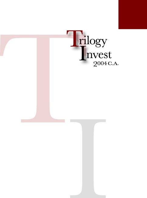 Muestra de un logo de Tipografia, se jugo con el nombre de la compañia, la T y la I son la parte importante de este logo.