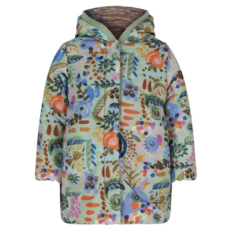 Oilily Girls Green Catalina Coat. Available at www.chocolateclothing.co.uk