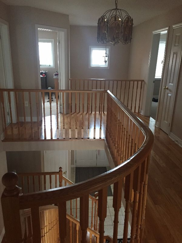 Room for rent as of Jan 1: A large room with private access to a full bathroom. Furnished with a queen bed and desk and a spacious closet. Less than a 10 min walk to Sheridan college, less than a 5 min drive to all major highways: 410/401/407 and walking distance to community centres and...