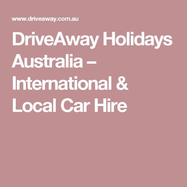 DriveAway Holidays Australia – International & Local Car Hire