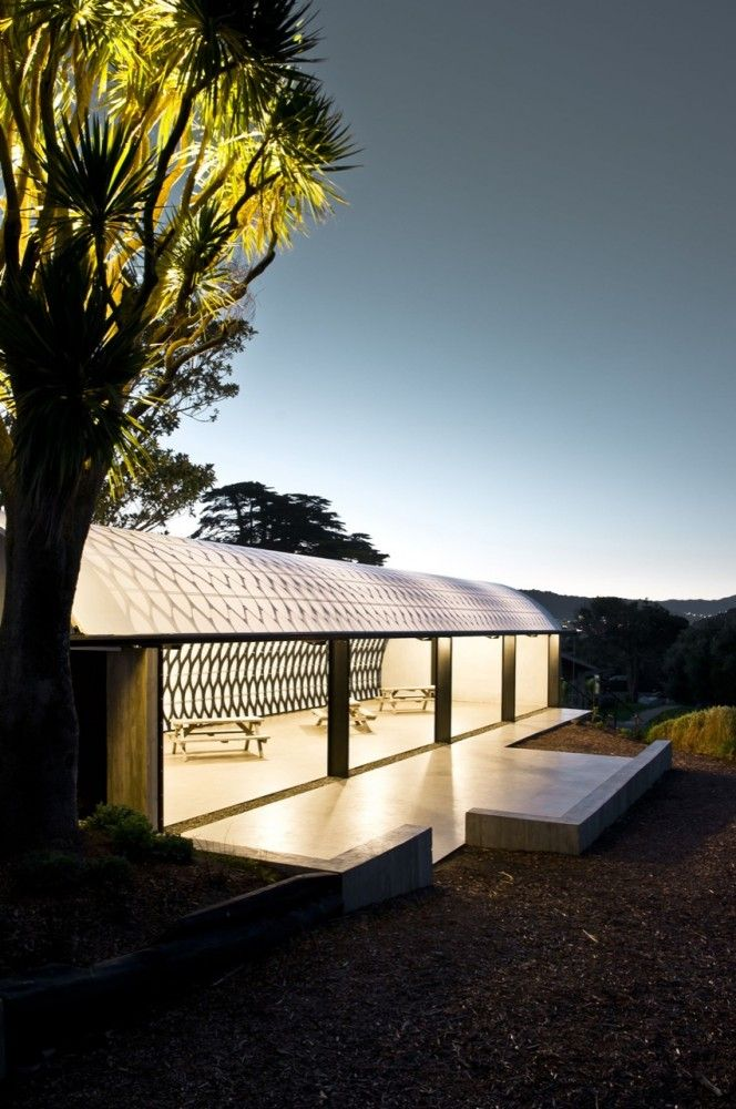 The Wellington Zoo Hub - Assembly Architects Limited.  Exterior