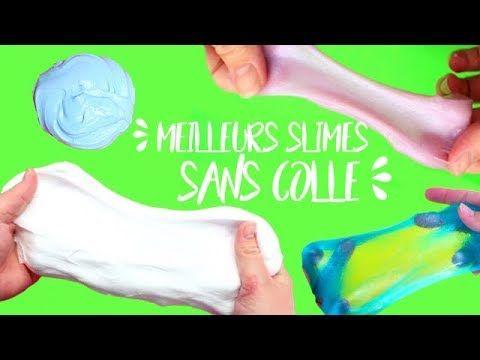 4 recettes de slime sans colle qui marchent vraiment┃Top 4 slimes sans colle┃Reva ytb - YouTube
