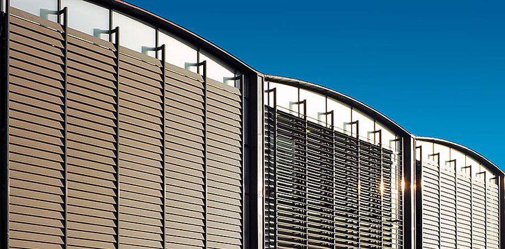 Kobberlameller gir god effekt på bygningen http://kvintblendex.no/produkter/kobberlameller/