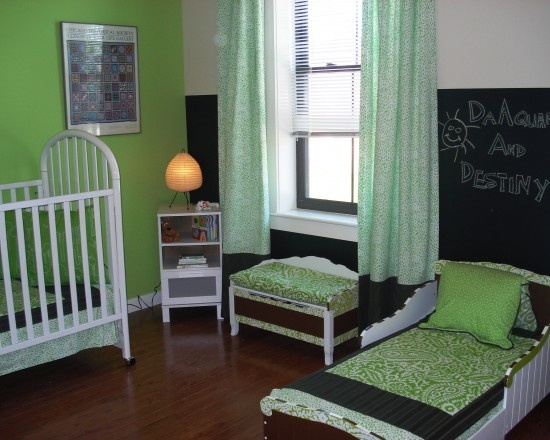 toddler/baby room
