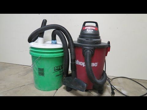 Cheapest DIY Dust Collection System - YouTube | Workshop